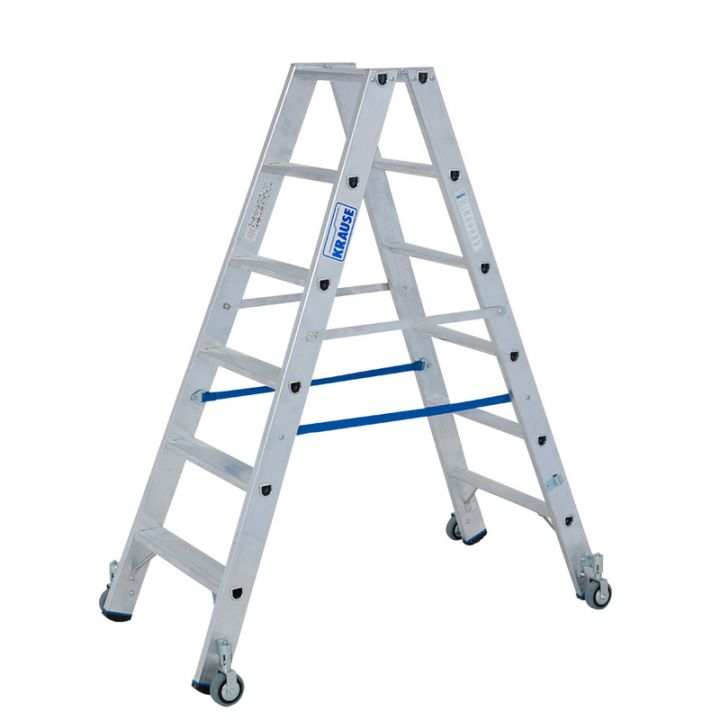 Передвижная лестница-стремянка KRAUSE Stabilo (124845)