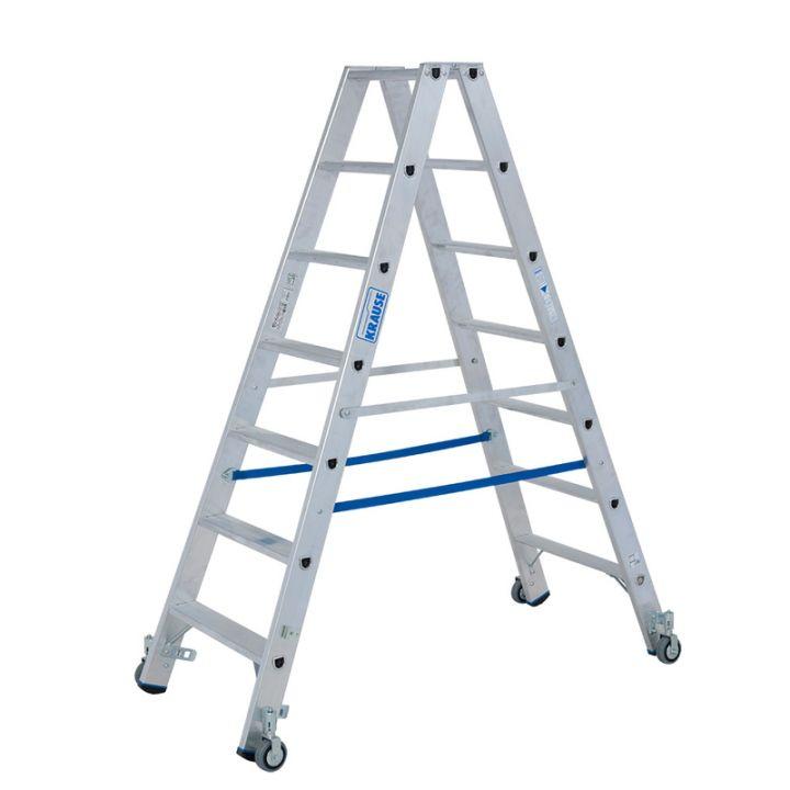 Передвижная лестница-стремянка KRAUSE Stabilo (124852)