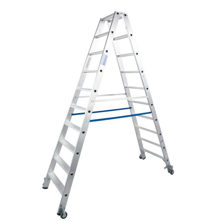 Передвижная лестница-стремянка KRAUSE Stabilo (124876)