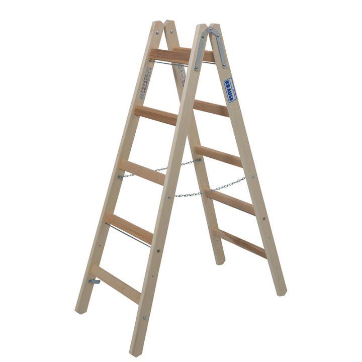 Лестница-стремянка деревянная KRAUSE Stabilo (170071)