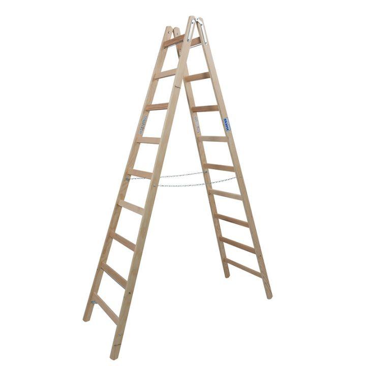 Лестница-стремянка деревянная KRAUSE Stabilo (170118)