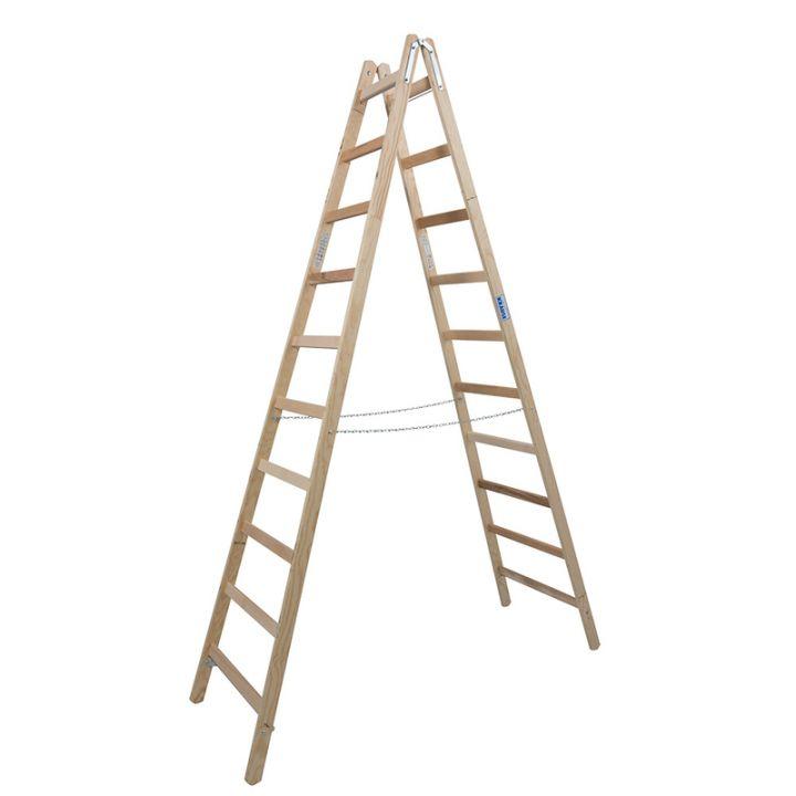 Лестница-стремянка деревянная KRAUSE Stabilo (170125)