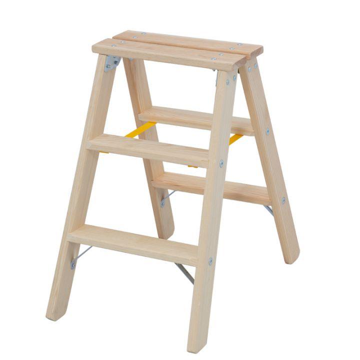 Лестница-стремянка деревянная KRAUSE Stabilo (818201)