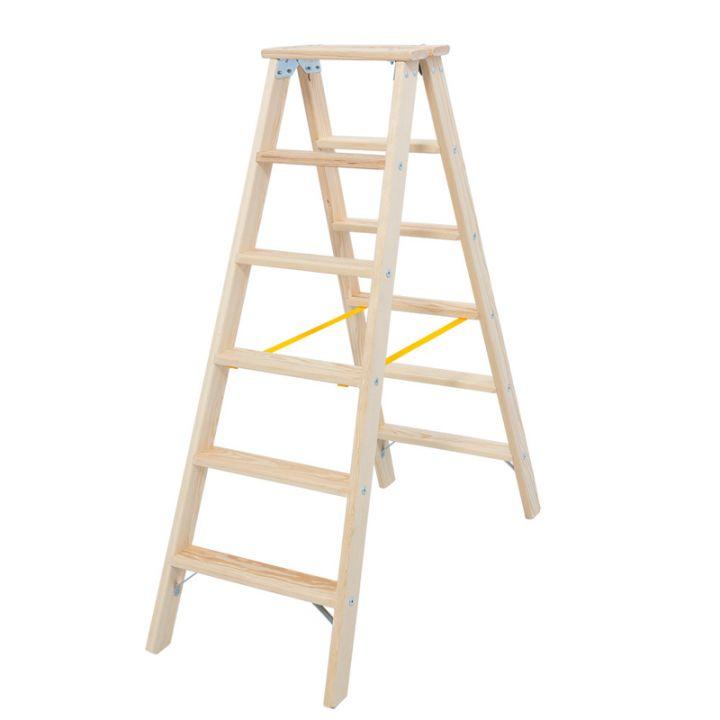 Лестница-стремянка деревянная KRAUSE Stabilo (818232)