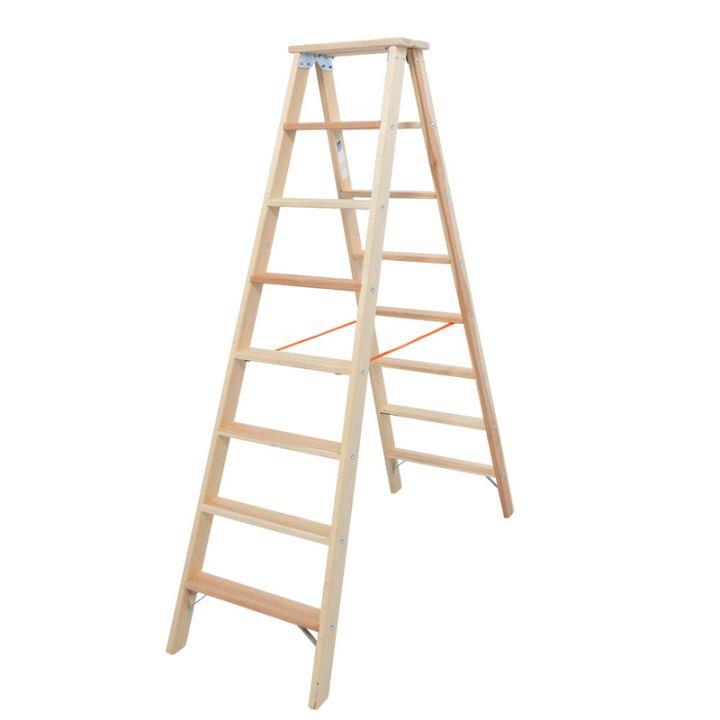 Лестница-стремянка деревянная KRAUSE Stabilo (818256)