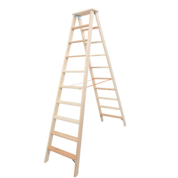 Лестница-стремянка деревянная KRAUSE Stabilo (818270)