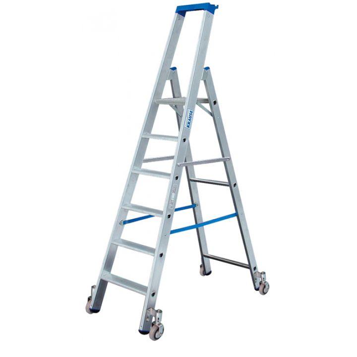 Передвижная лестница-стремянка KRAUSE Stabilo (124623)