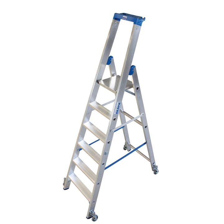 Передвижная лестница-стремянка KRAUSE Stabilo (124630)
