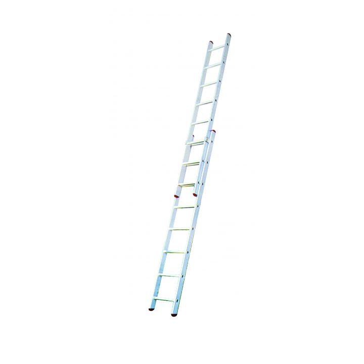 Выдвижная лестница с перекладинами KRAUSE Corda (032188)