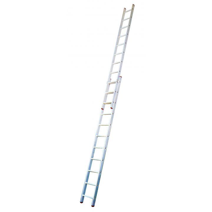 Выдвижная лестница с перекладинами KRAUSE Corda (032195)