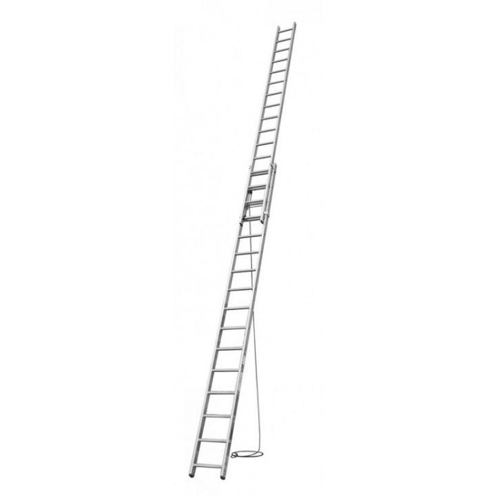 Выдвижная лестница с тросом KRAUSE Corda (031525)