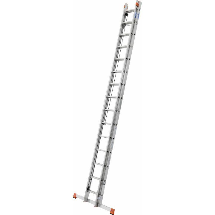 Выдвижная лестница с тросом KRAUSE Monto Robilo (129840)