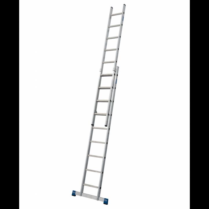 Выдвижная лестница с перекладинами KRAUSE Stabilo (133328)