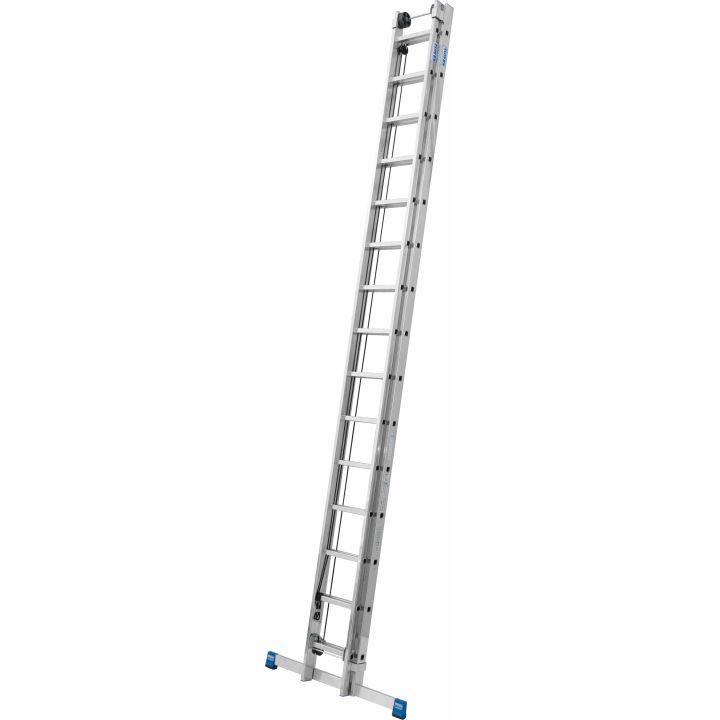 Выдвижная лестница с тросом KRAUSE Stabilo (133847)
