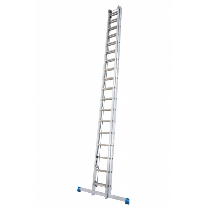 Выдвижная лестница с тросом KRAUSE Stabilo (800756)