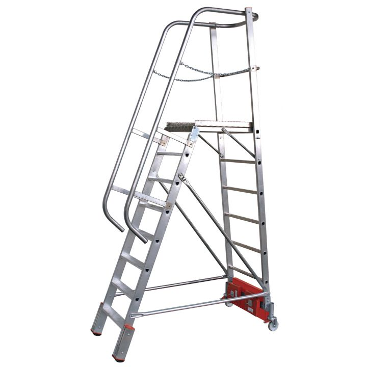 Лестница с платформой KRAUSE Stabilo Vario Kompakt (833013)