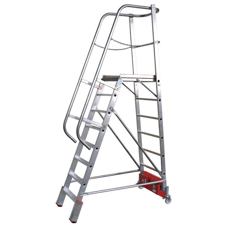 Лестница с платформой KRAUSE Stabilo Vario Kompakt (833150)