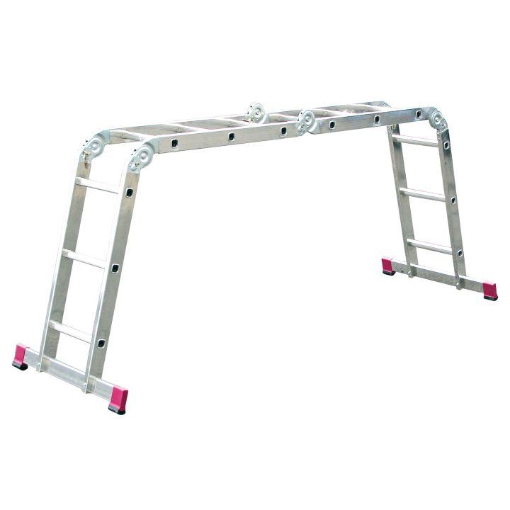 Шарнирная универсальная лестница-трансформер KRAUSE Corda (085009)