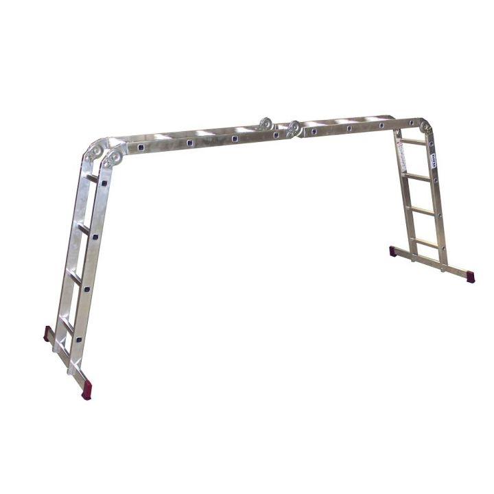 Шарнирная универсальная лестница-трансформер KRAUSE Corda (085047)