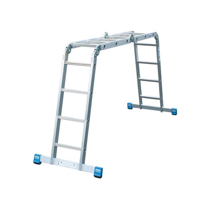 Универсальная шарнирная лестница KRAUSE Stabilo (123527)
