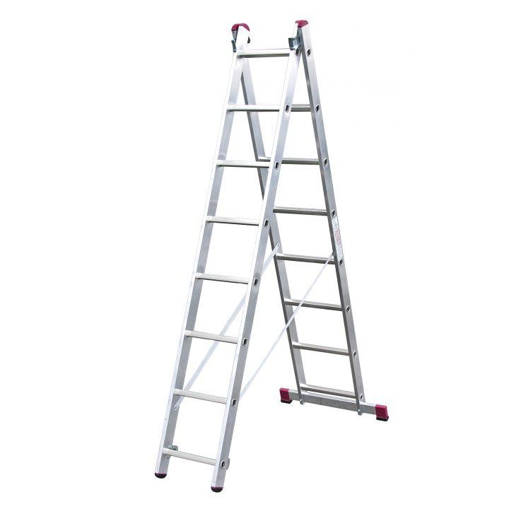 Лестница алюминиевая универсальная KRAUSE Corda (010285)