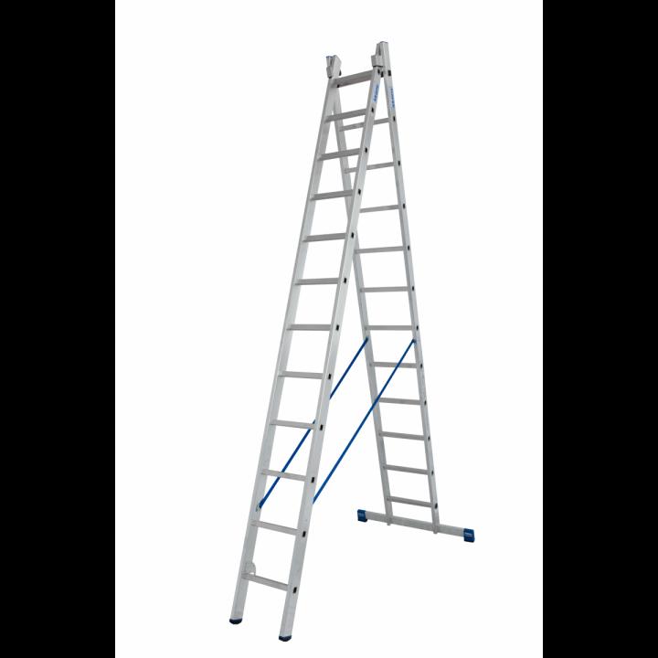 Универсальная лестница с перекладинами KRAUSE Stabilo (133472)