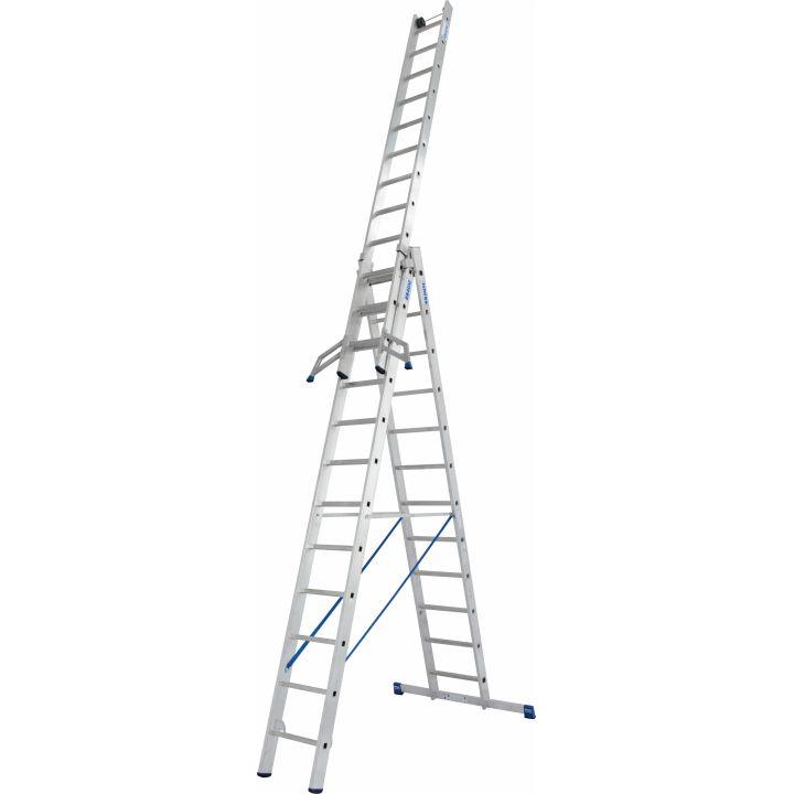 Универсальная лестница с перекладинами KRAUSE Stabilo (133700)