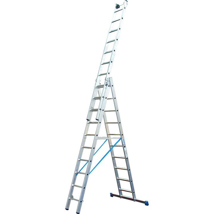 Универсальная лестница с перекладинами KRAUSE Stabilo (133748)